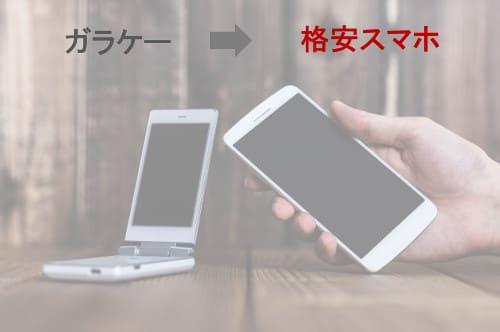 ガラケーユーザーが格安SIMへ乗り換える際のポイント