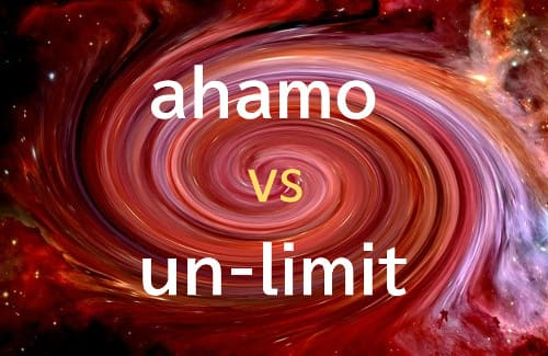 NTTドコモのahamo(アハモ)と楽天モバイルのアンリミットを徹底比較